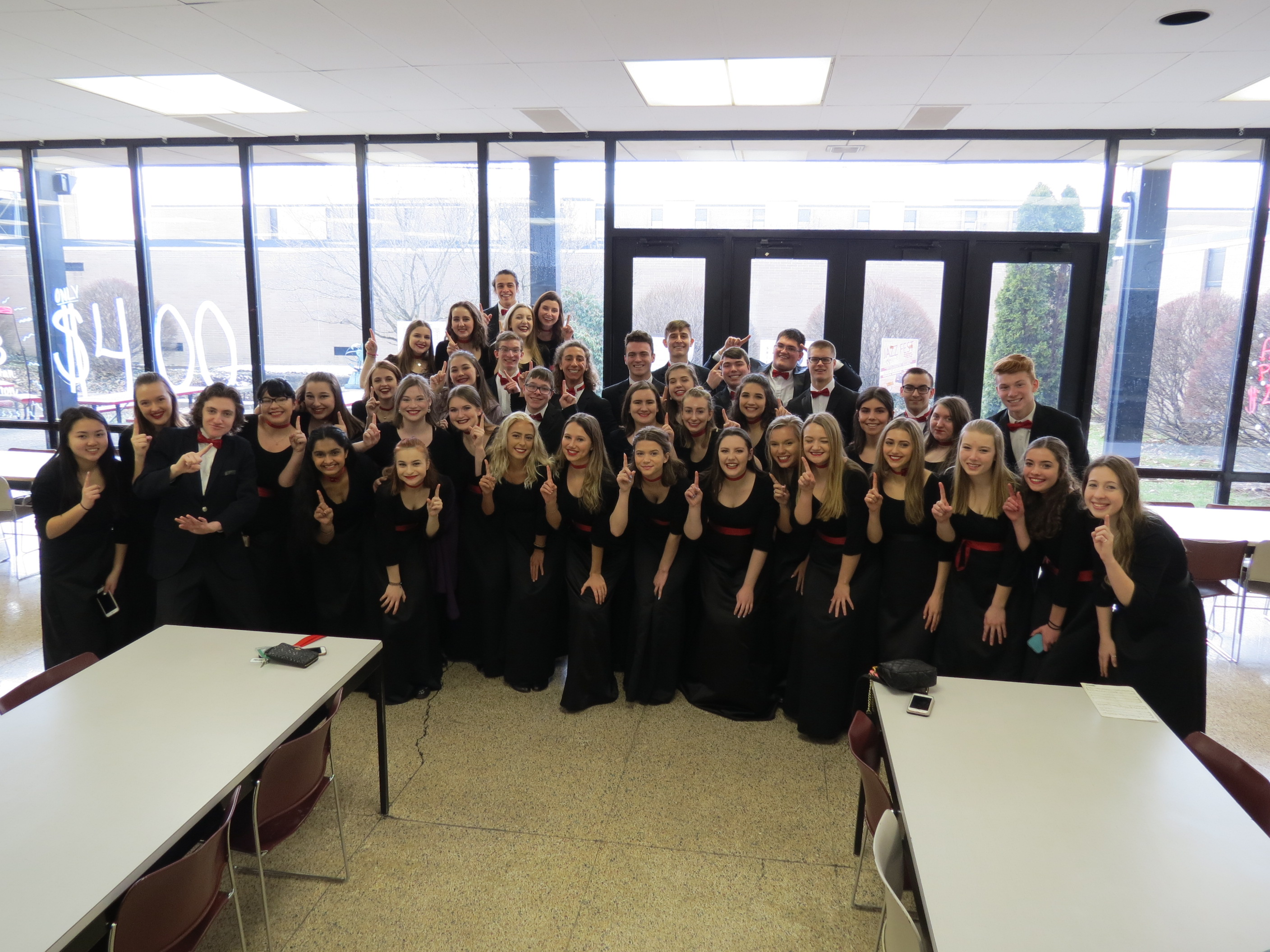 choir students